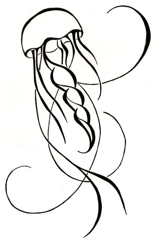 Tribal Jellyfish Tattoo Designs Images amp Pictures Becuo