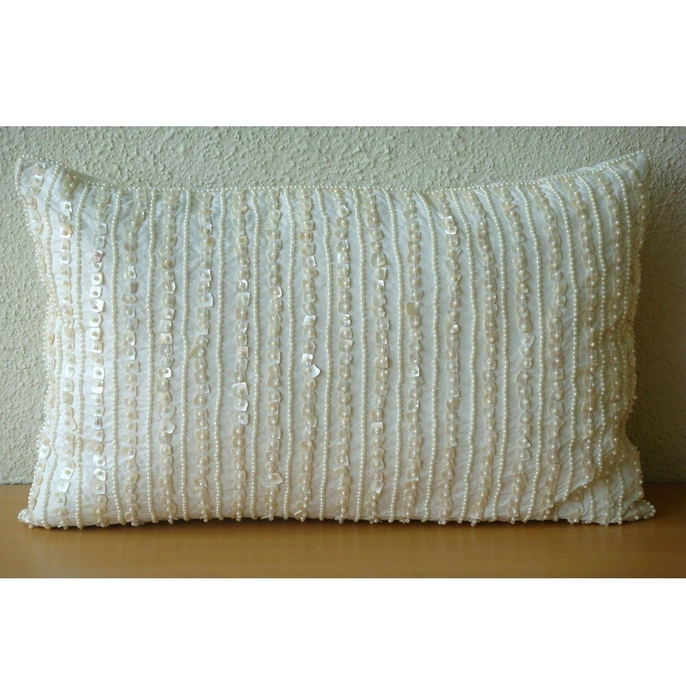 Decorative Oblong / Lumbar Throw Pillow Covers by TheHomeCentric