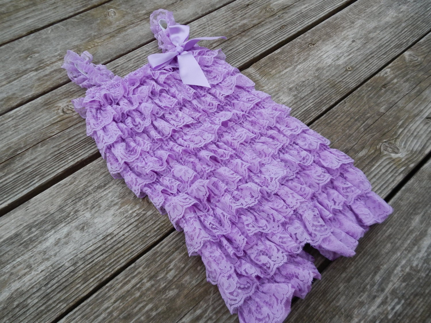 Lavender Petti Romper, Lace Romper, Baby Romper, Photography Prop, Birthday Outfit, Pettiromper, Romper - LauraBethCreations