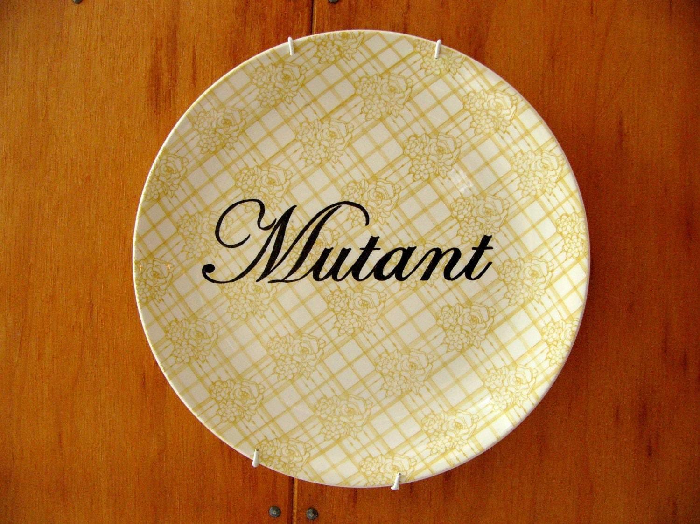 Mutant plate