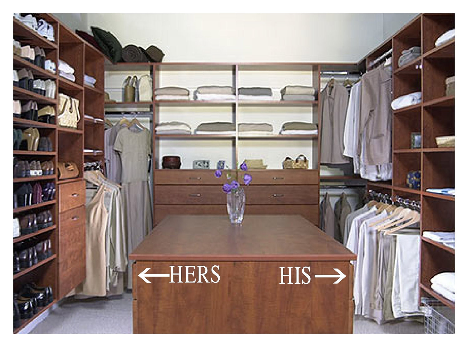 The big chore list hello life for His and hers wardrobe