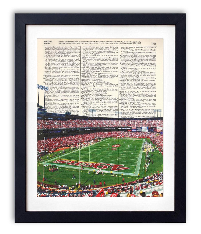 San francisco 49ers football stadium upcycled dictionary for Buy reclaimed wood san francisco
