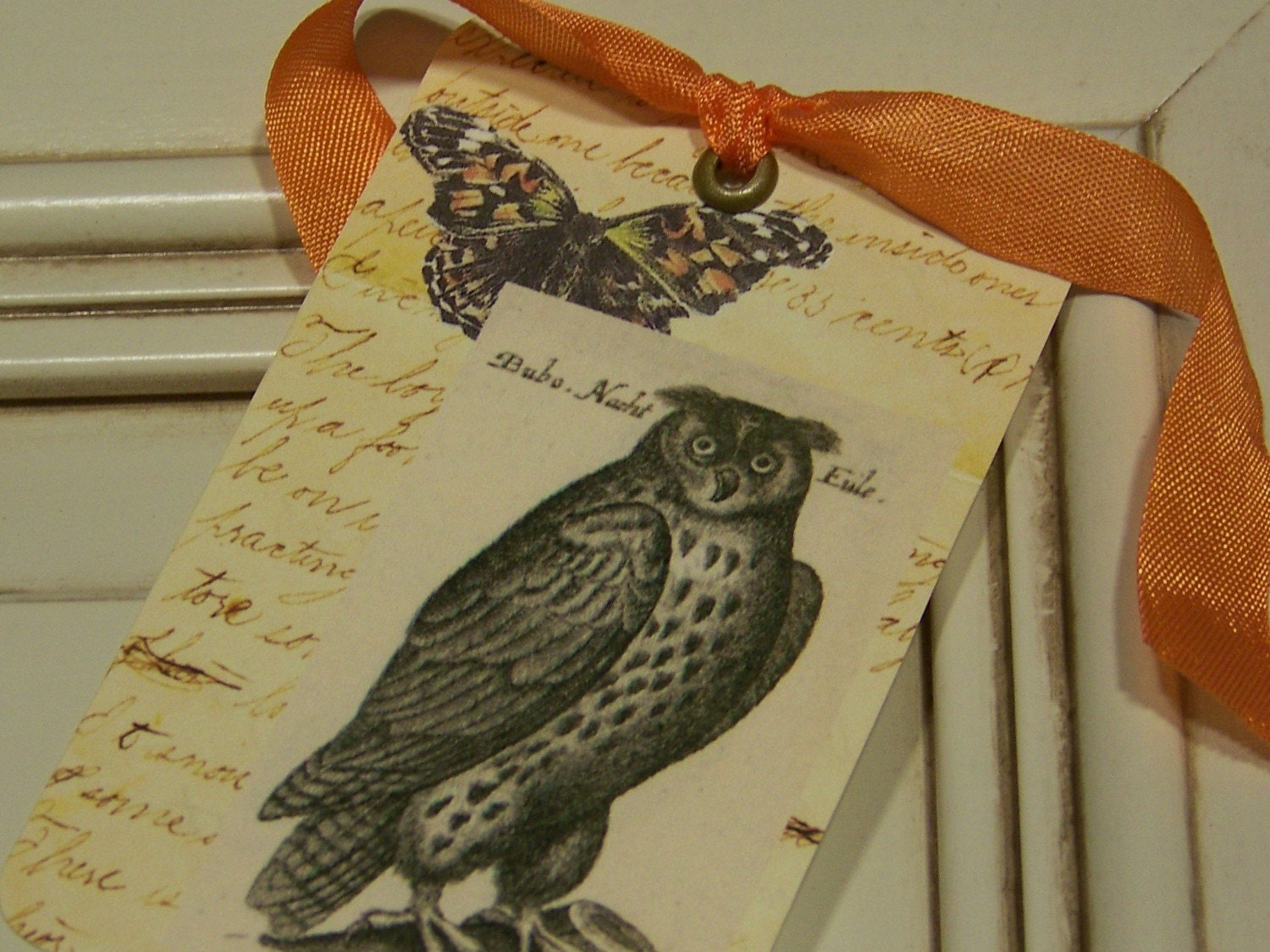 Owl and Butterfly Gift Tags