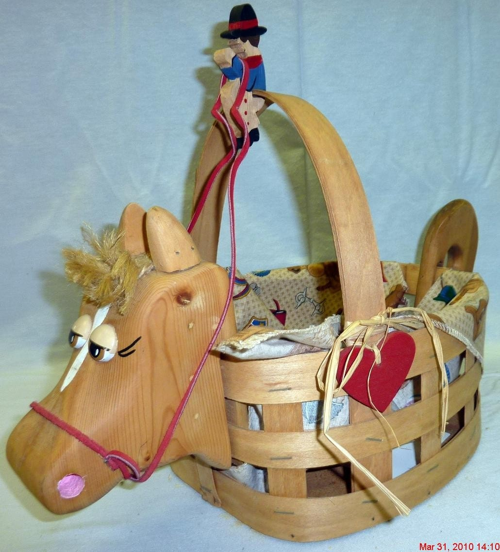 Horse Basket