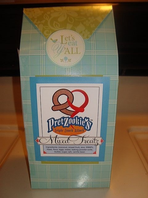 Home-Made Pretzookie's in Gift Box