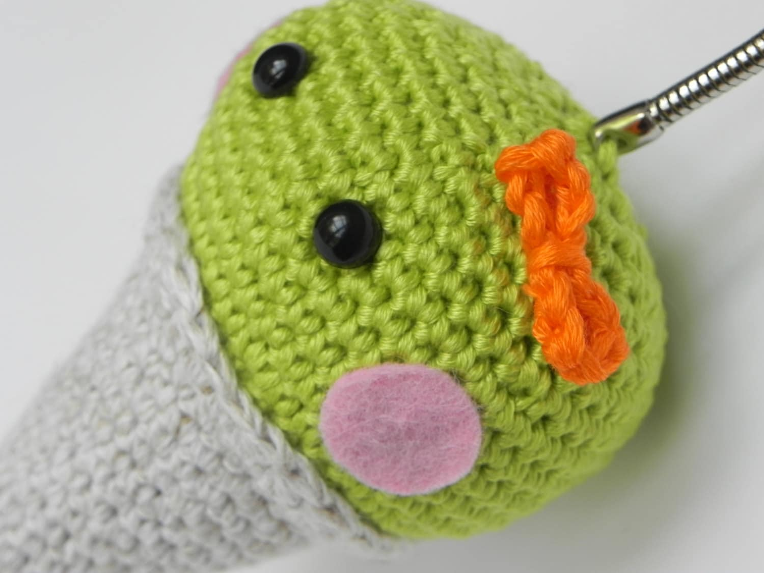 Amigurumi Magische Ring : Items similar to amigurumi crochet key ring (mini-M ...