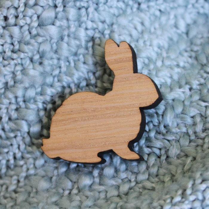 A cute bunny pin