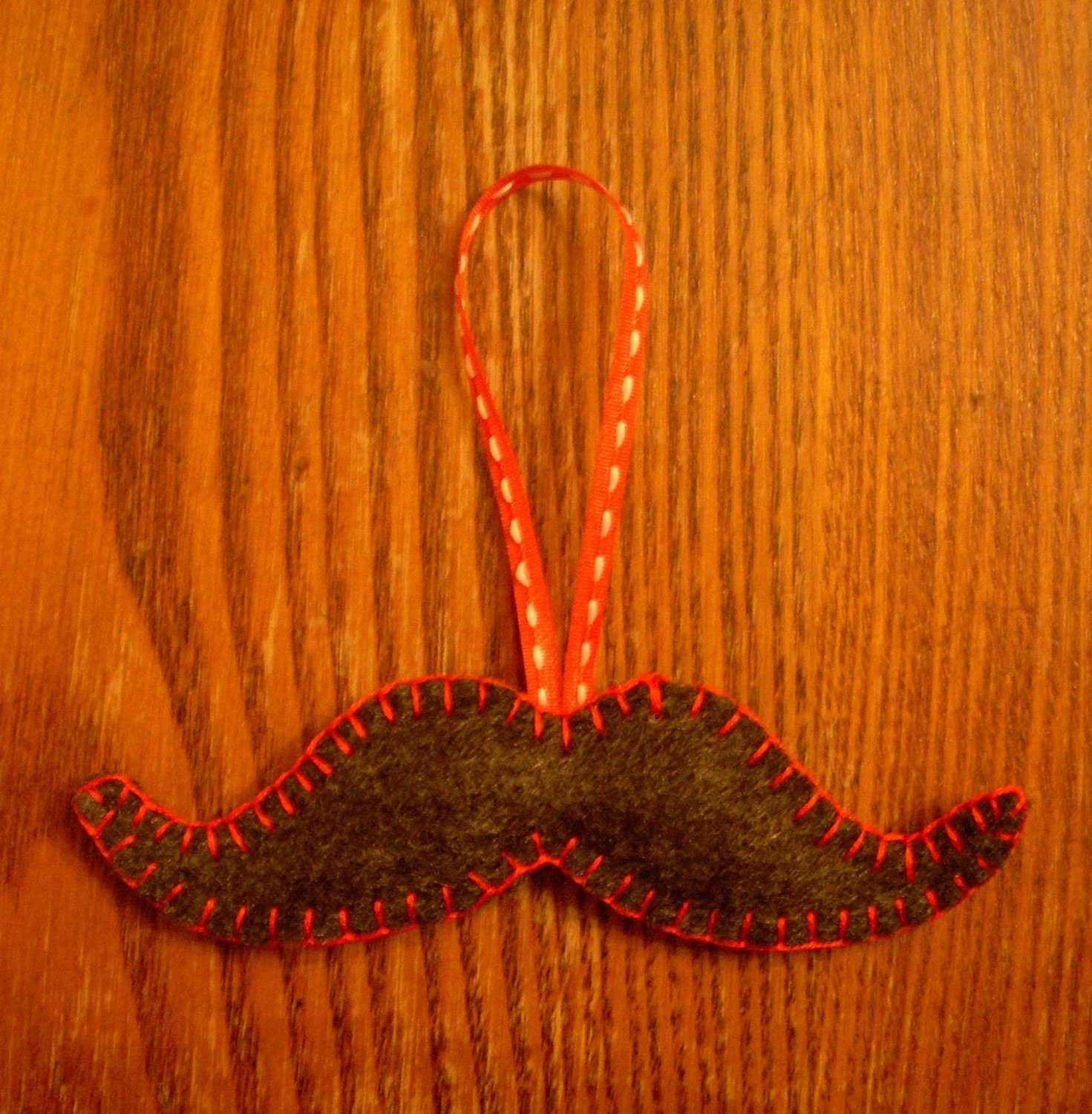 Moustache Ornament