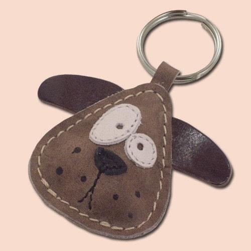 Cute little dog keychain
