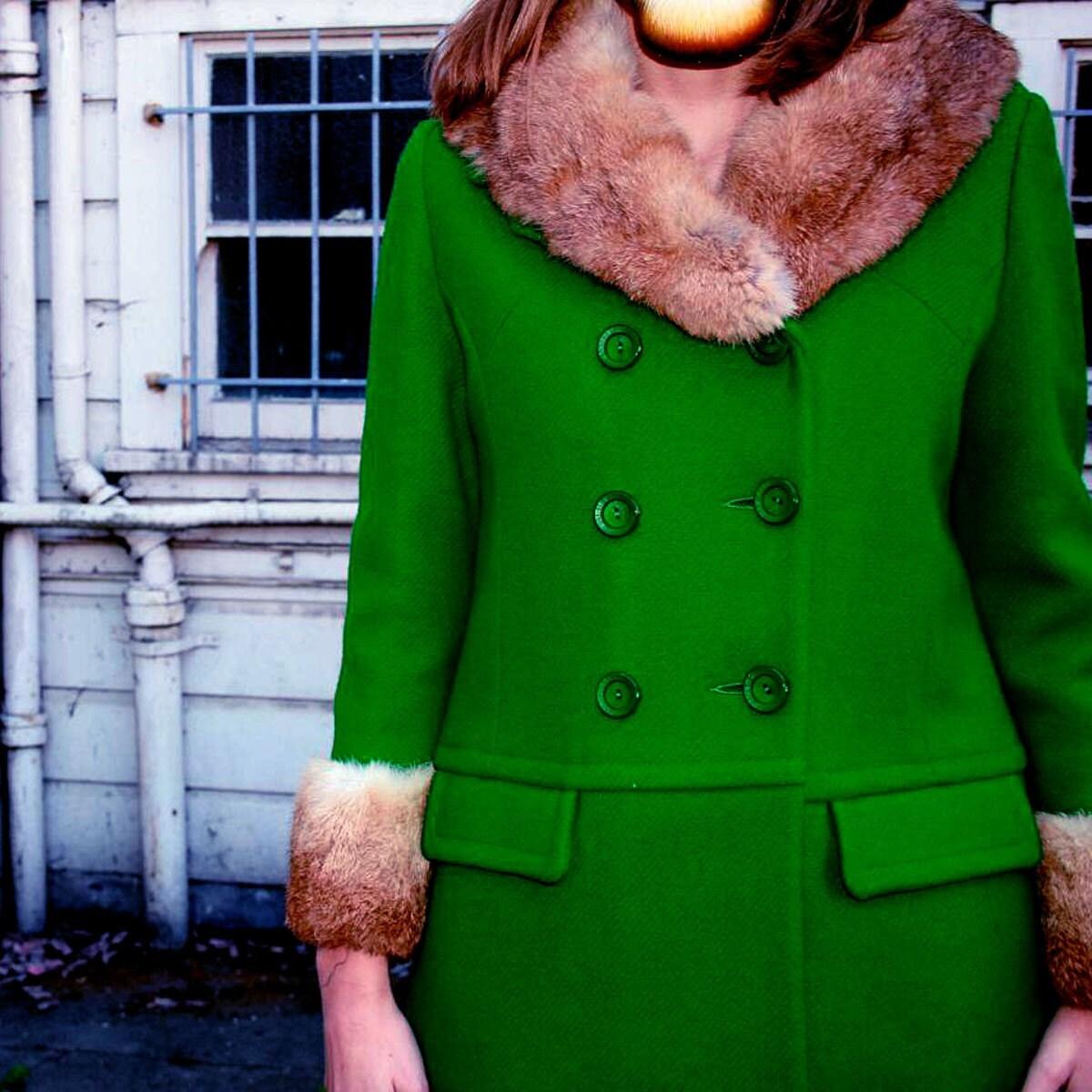 green furcoat