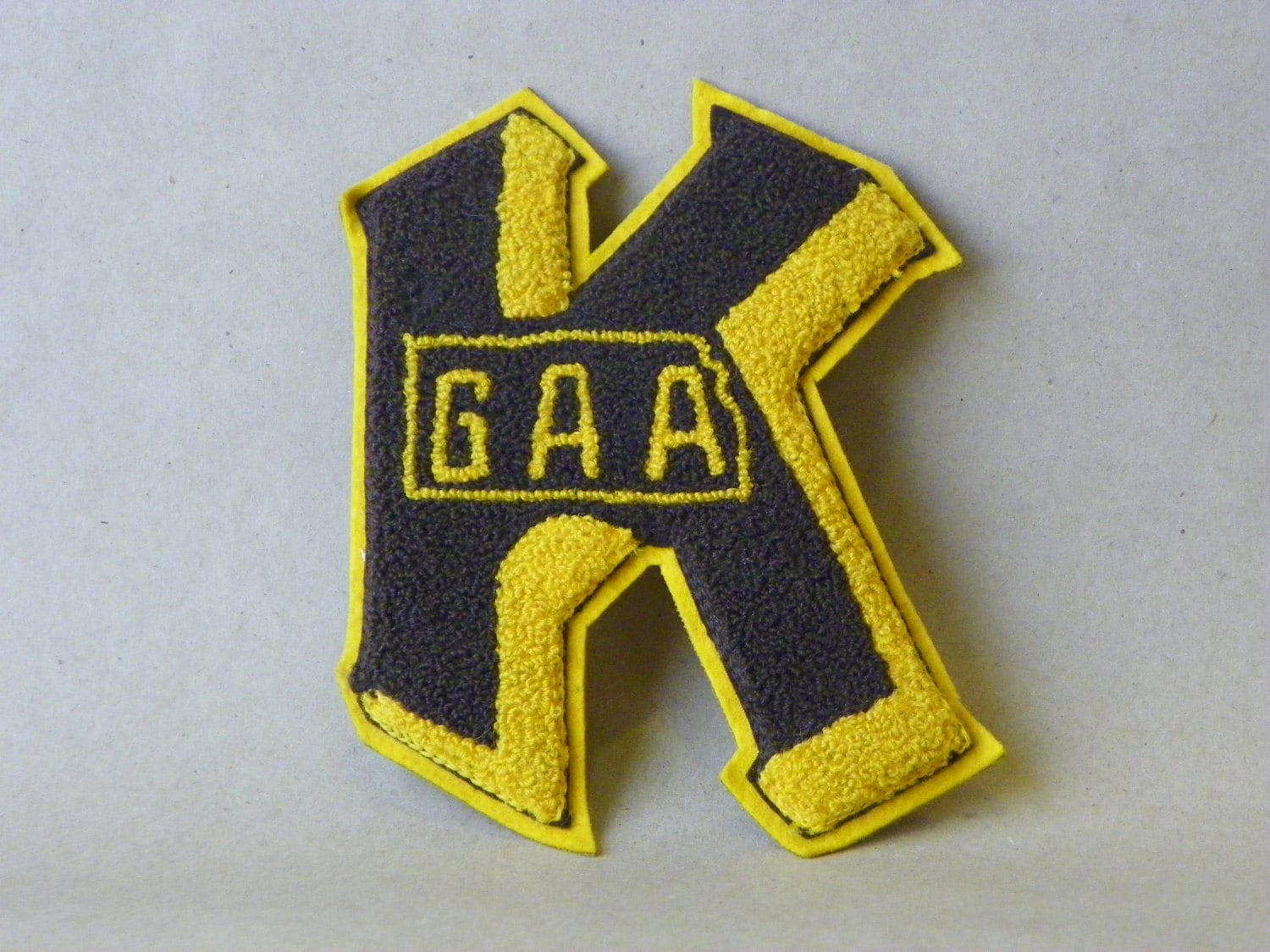 We got spirit yes we do, we got spirit how about you... not without your lettermans patch - anEstateSale