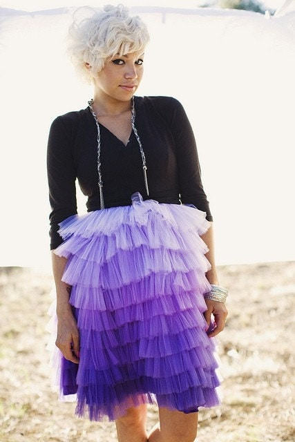 Carolina Hand Dyed Ombre Skirt