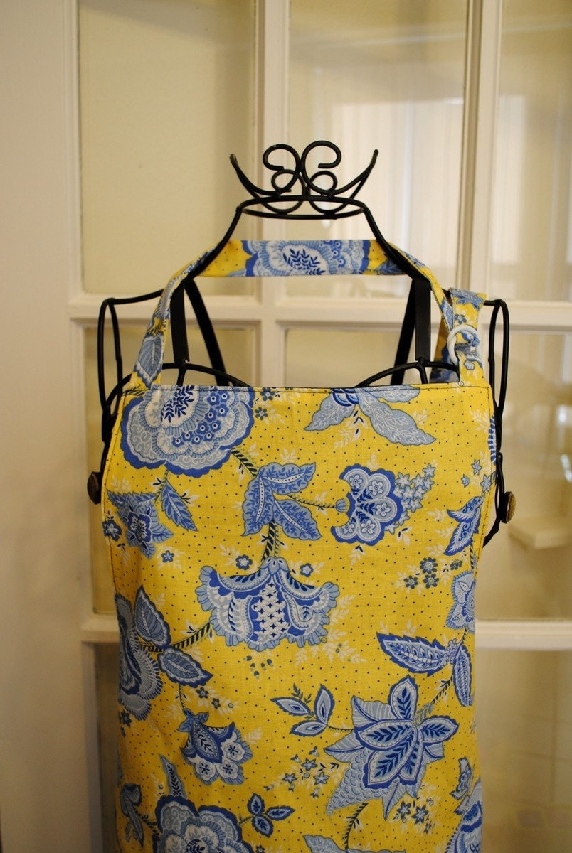 French Country Womens Full lined Apron