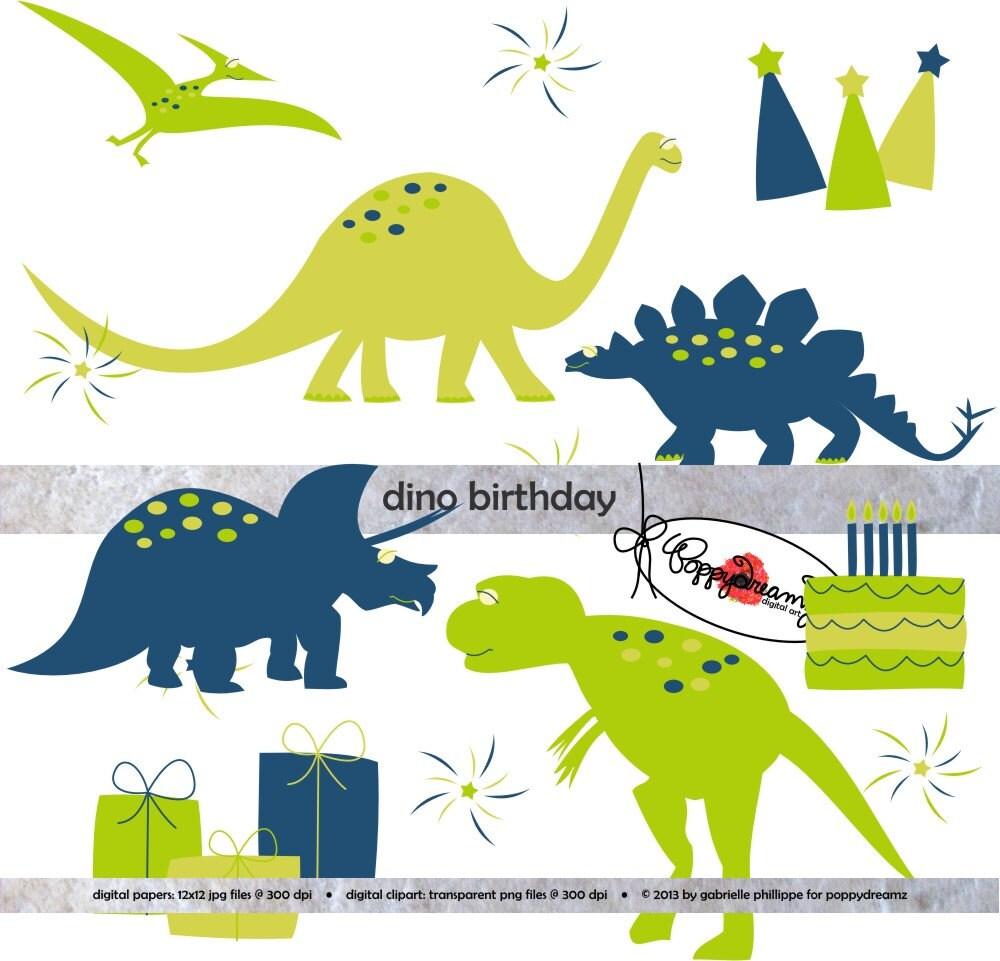 Открытки с динозаврами с днем рождения