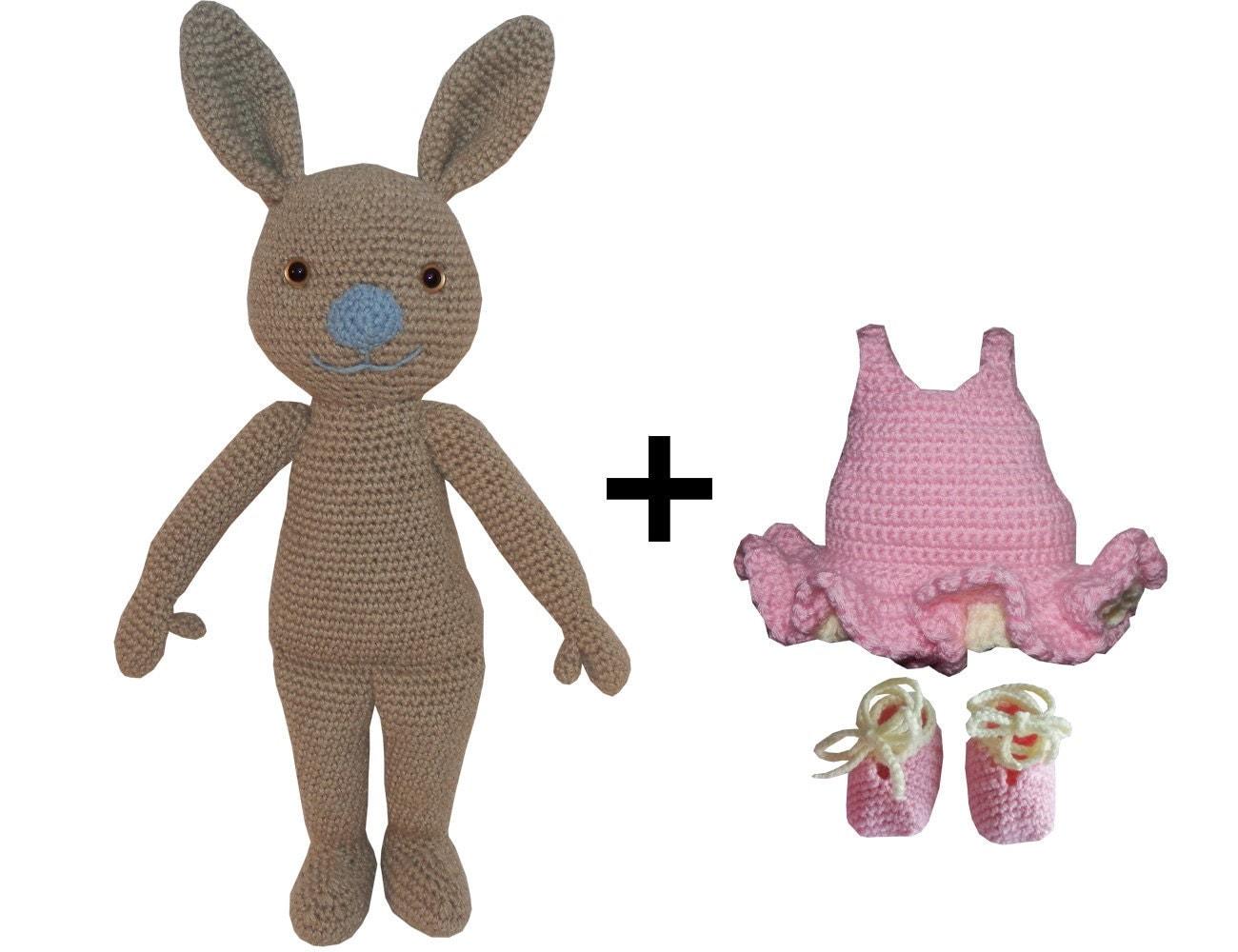 Amigurumi Crochet Dress : Items similar to Amigurumi Crochet Pattern: Ballerina ...