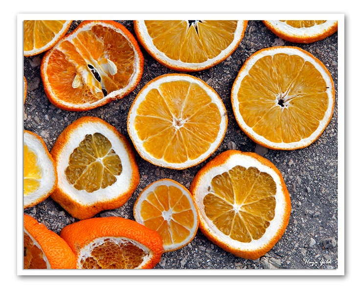 Orange fruit photography kitchen art decor by hayagold on etsy for Fruit orange decoration