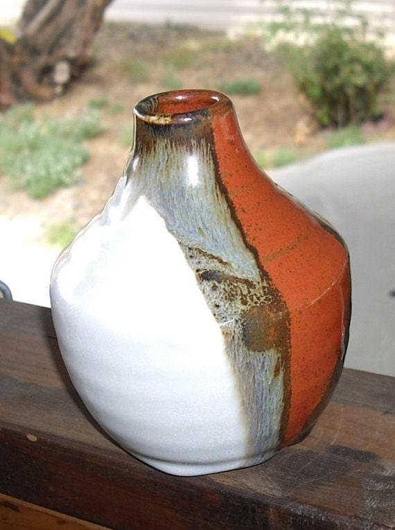 Vintage Art Pottery Vase, signed - designfrills