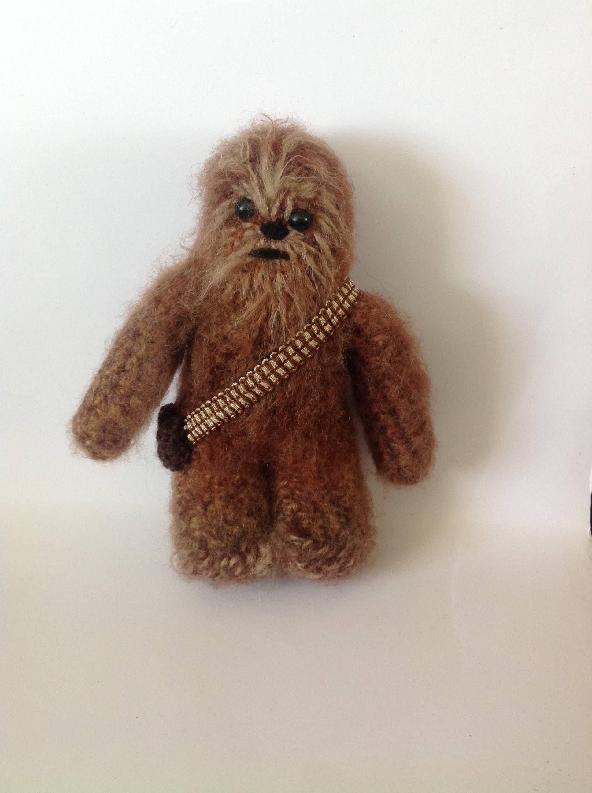 Chewbacca Star Wars inspired crochet character