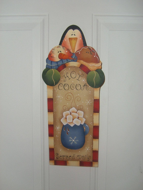 Hot Cocoa Sign