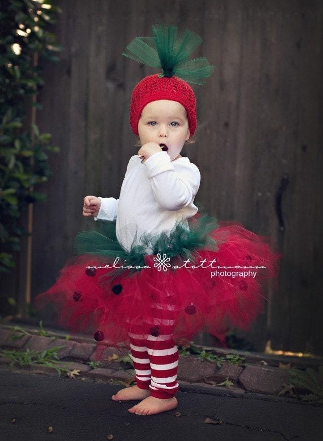 Strawberry Tutu Costume