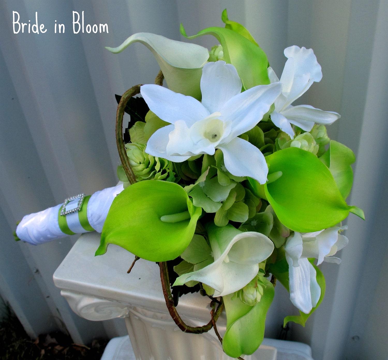 wedding bouquets silk