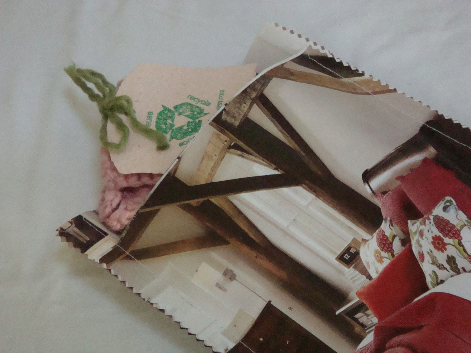 Upcycled Junk Mail Inner Envelopes for Shipping - Large