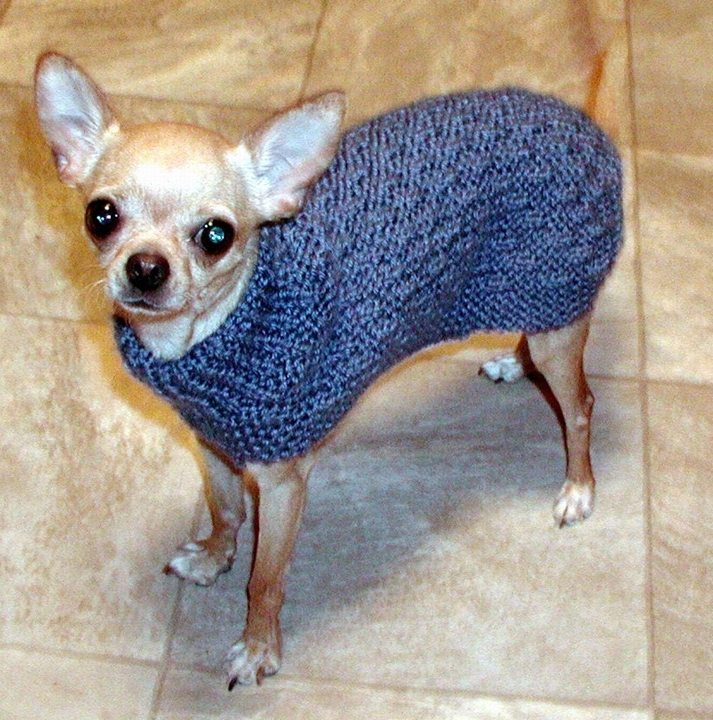 Yorkie Sweater Pattern 48