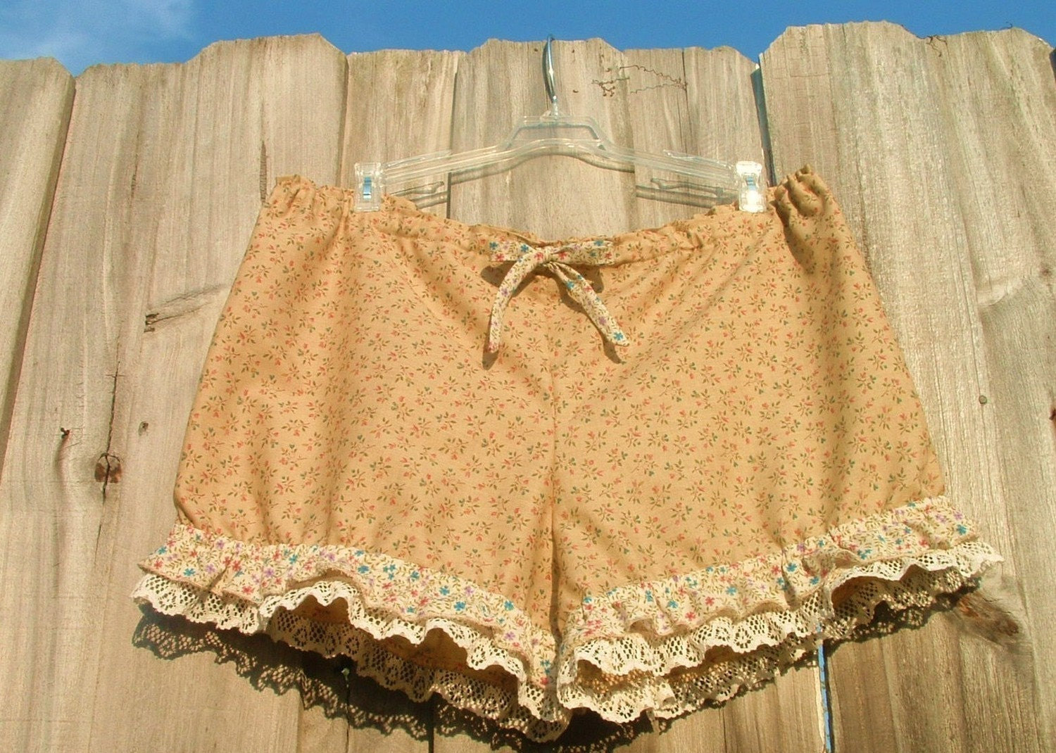 New antique bloomers with ruflles