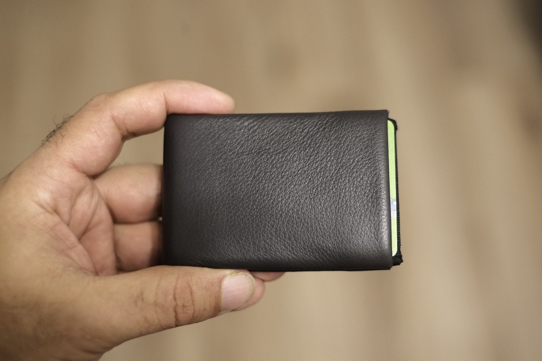 Limited Edition NERO Wallet  Full Grain Leather Wallet Minimalist Wallet Mens Wallet Womens Wallet Original Nero Wallet RFID Blocking