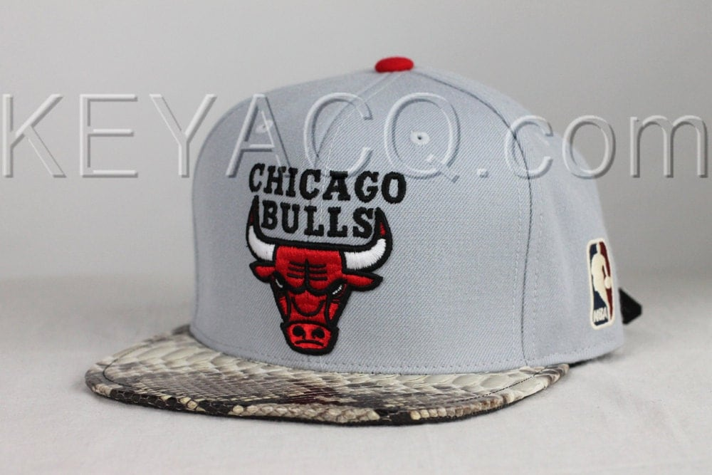 9123ba843 No.195 — Chicago Bulls with Authentic Python Belly and Black ...