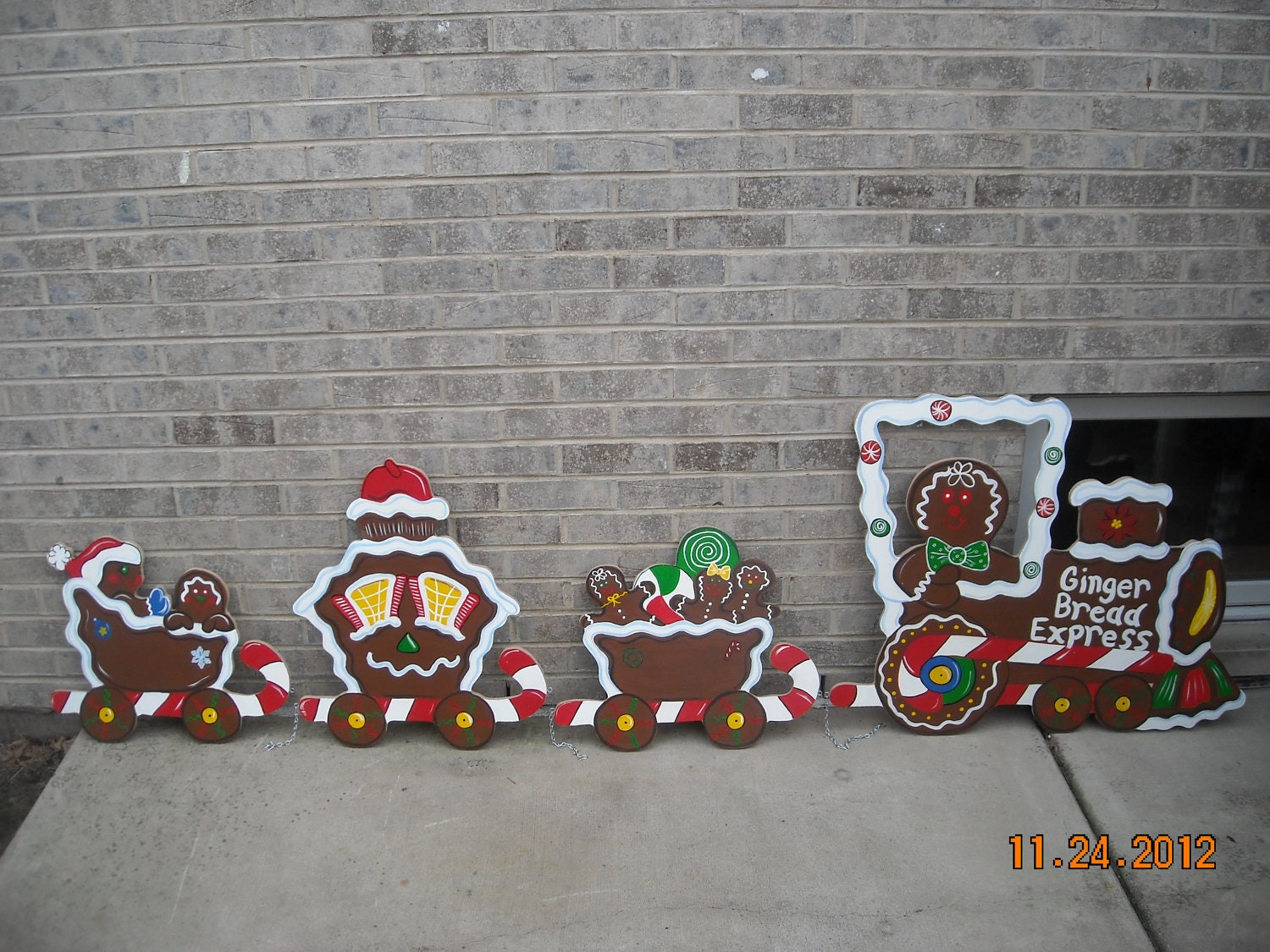 Christmas train painting bing images