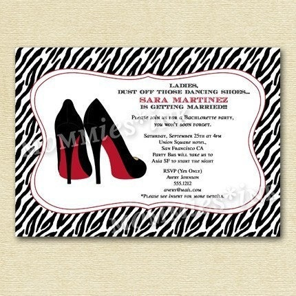 Girls Night Invitation. Girls Night Out Invitation