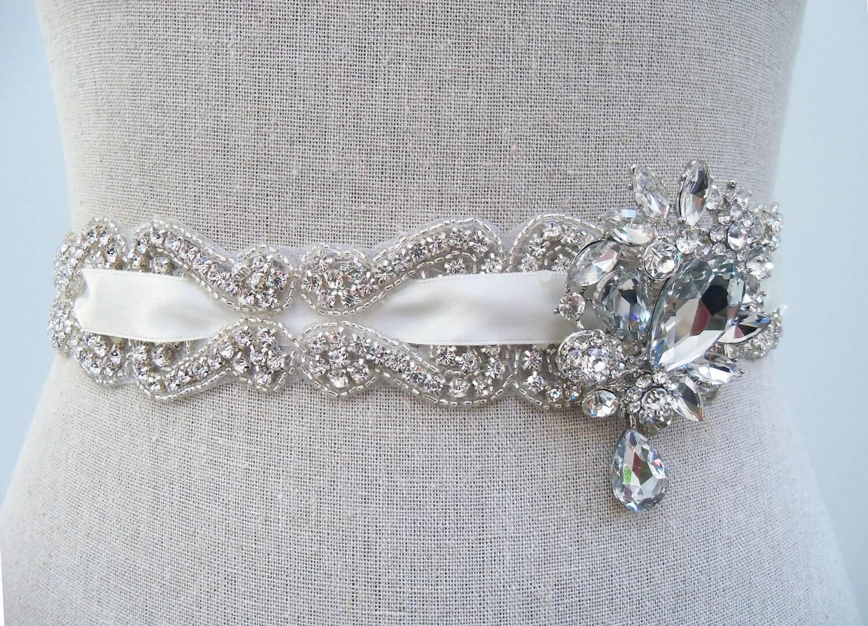 Couture Bridal Sash Bridal Belt Emilie