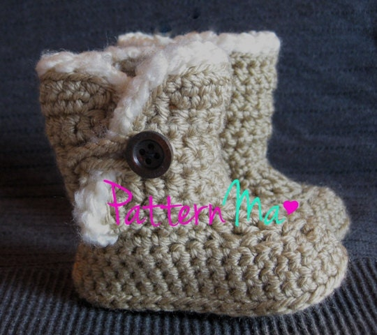 baby uggs to crochet