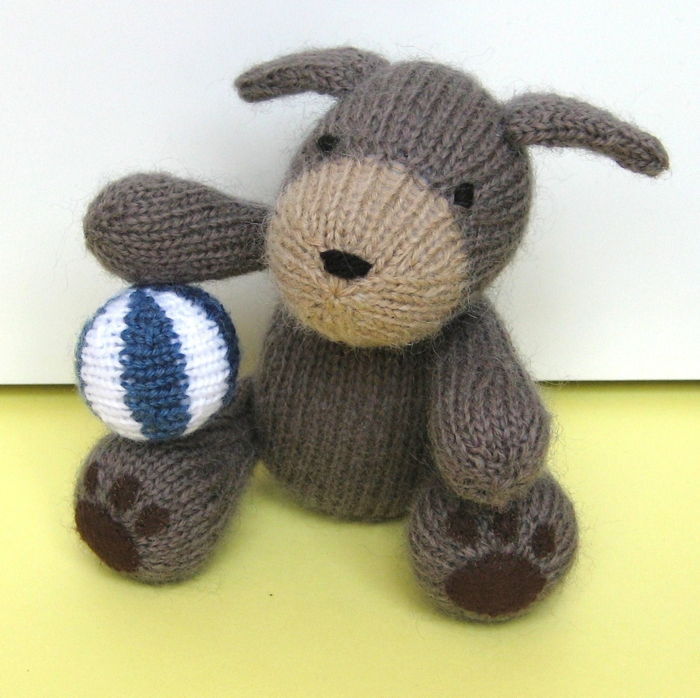 KNITTING PATTERNS FOR TOY DOGS | 1000 Free Patterns