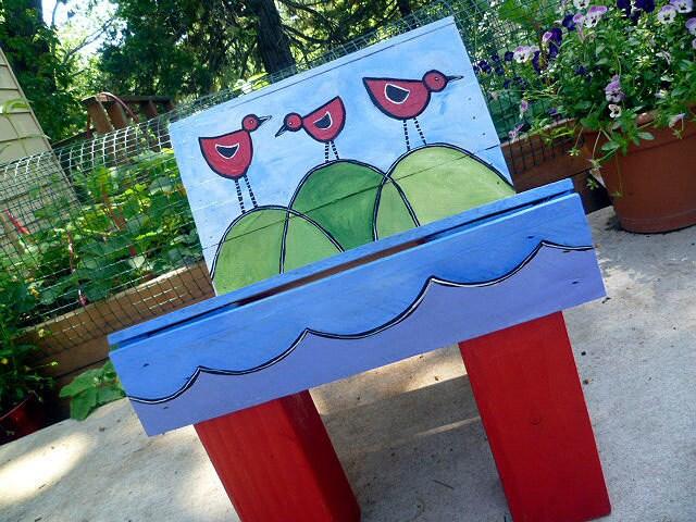 Paletas de madera reciclada para niños jóvenes Muebles Presidente Pintado Resumen