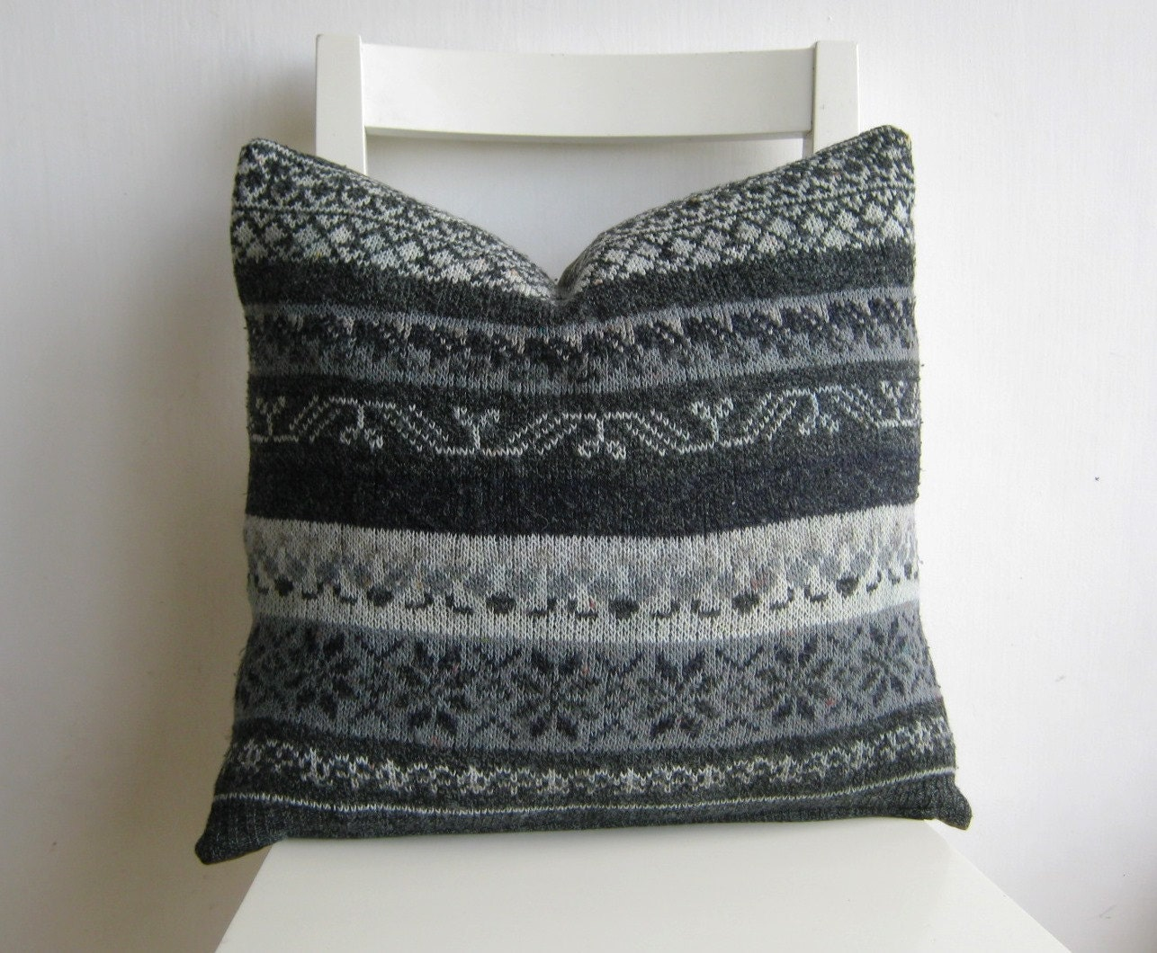 18 x 18 Sweater Pillow cover - pillow1