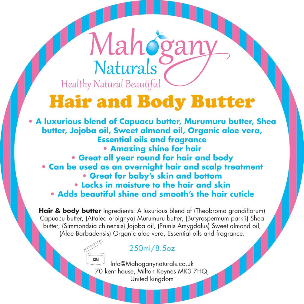 Hair & body butter
