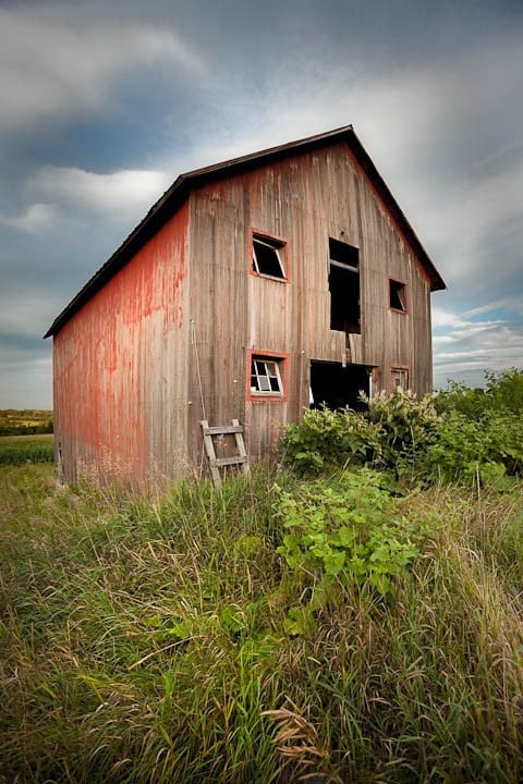 Red shack on Tucker Rd - 8x12 or 8x10 fine art photography print