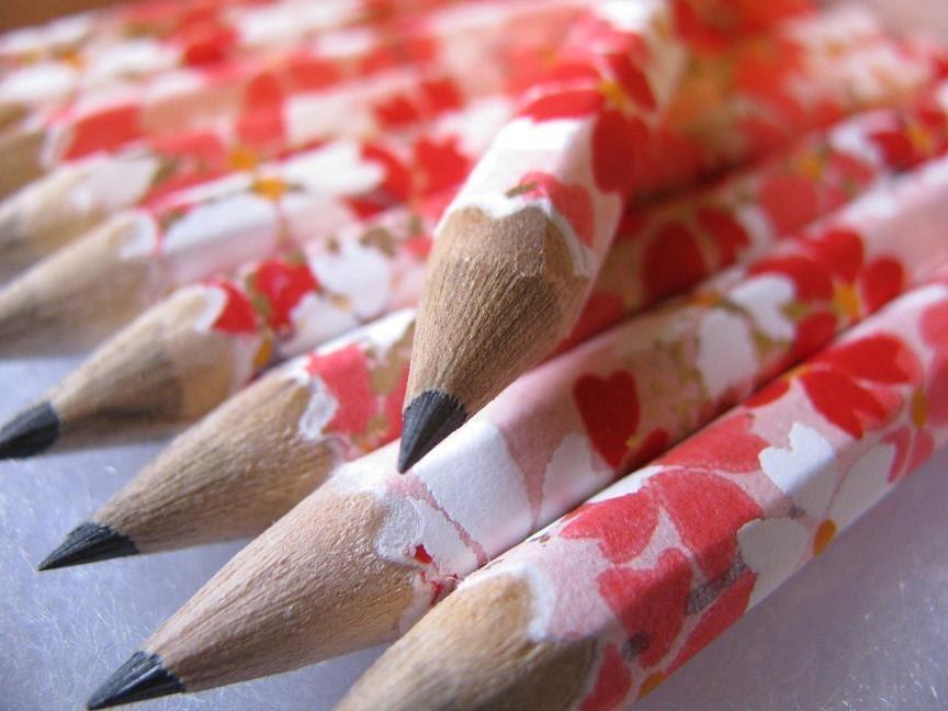 believe - a set of 10 washi-coated pencils