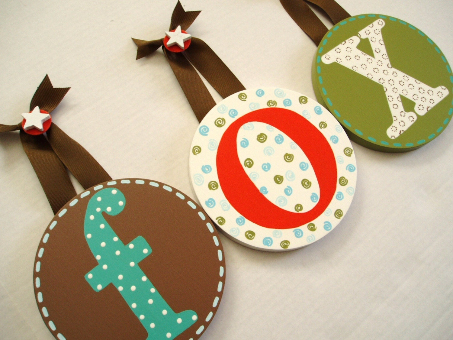 BOUTIQUE CHILDRENS ROUND WALL LETTERS