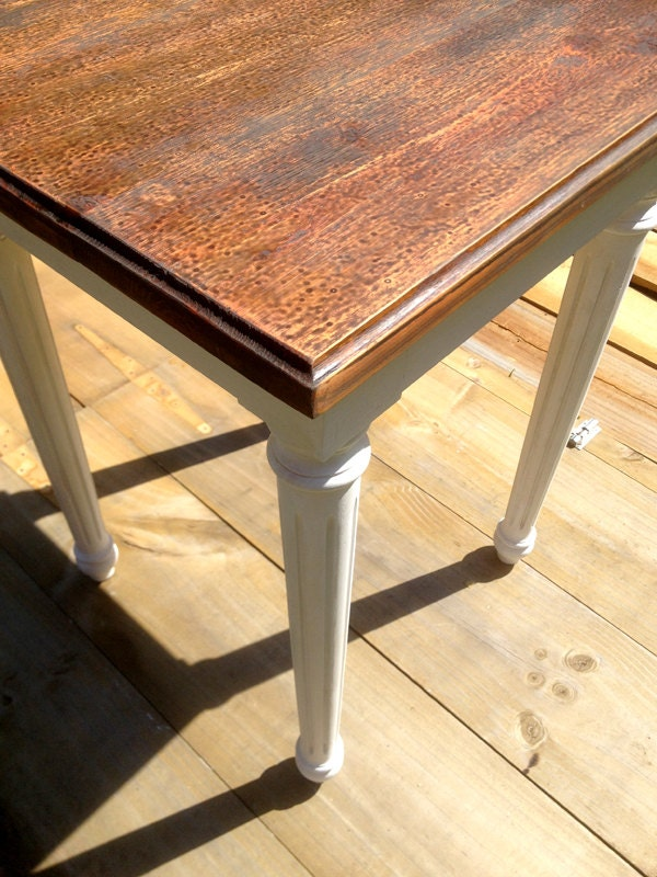 Upcycled Wooden Side Bedside Table Classic By Rosesupcycled