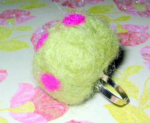 Big Fatty Felted Ring