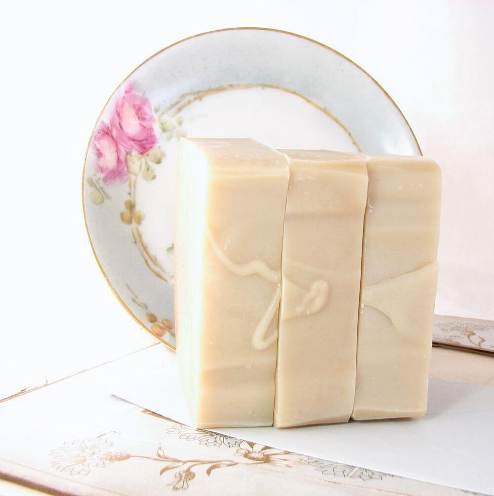 Honeybush Jojoba mild natural soap fragrance free - SierraShadowSoapCo
