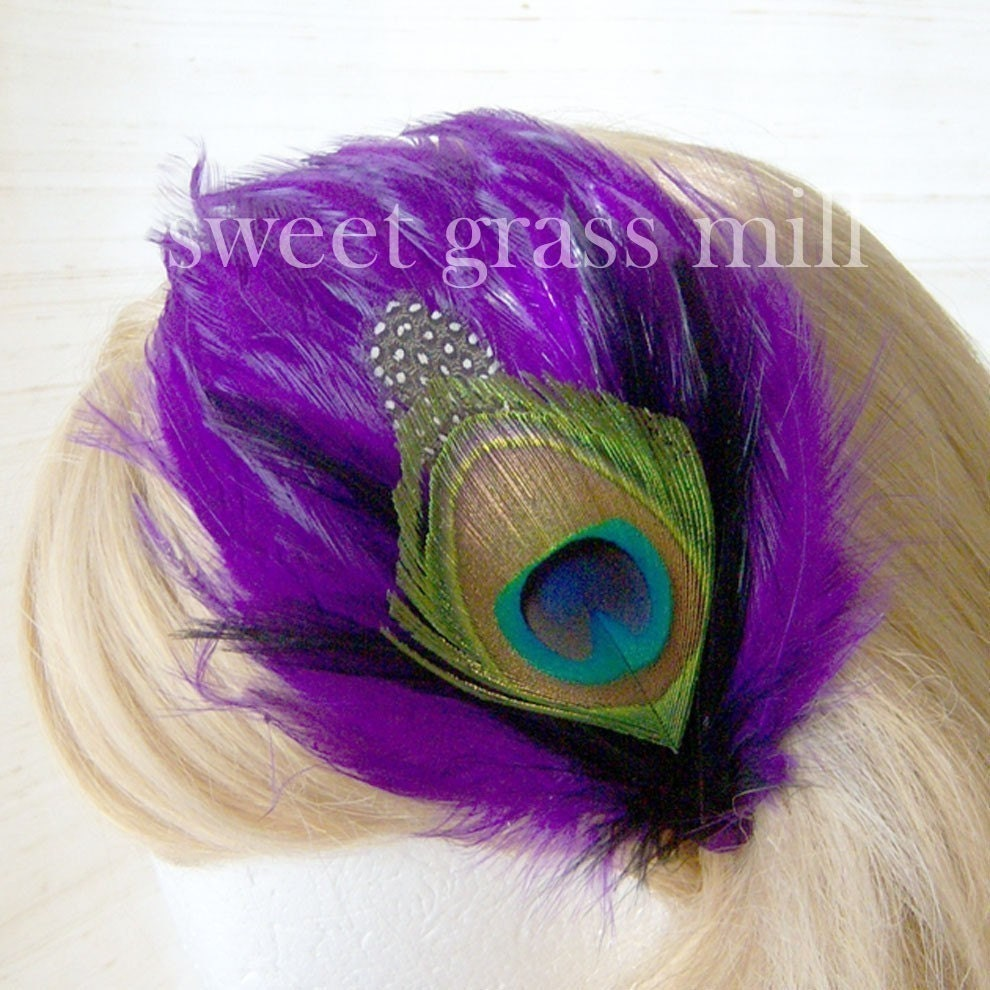 FREE U.S. SHIPPING - The Icon - Peacock Headpiece