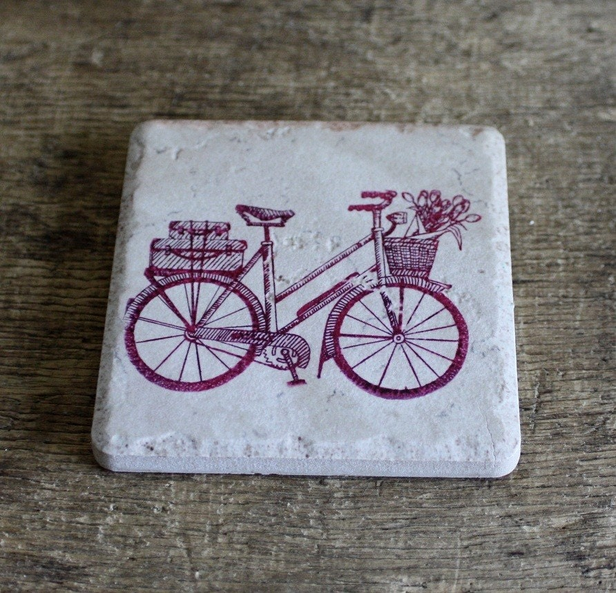 vintage style bicycle trivet