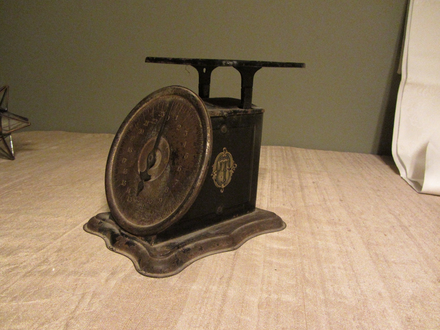 Antique Triner Scale Amp Mfg Co 1906 Chicago By Chermycloset
