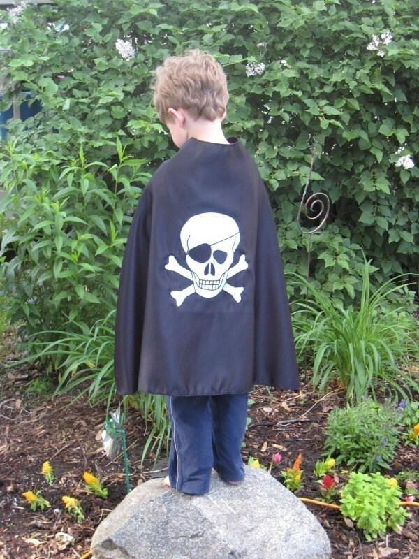 Children Superhero cape pirate hero kid capes