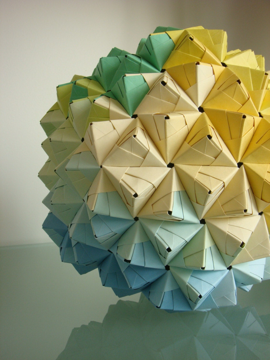 Origami Magic Ball Easy With Printer Paper