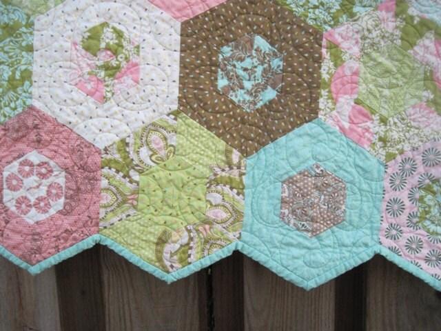 Custom Handmade Baby Quilt Hushabye - QuiltRhapsody